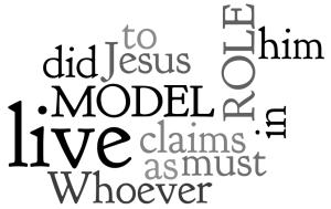 1 John 2:6 (NIV)